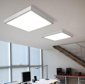 Alcon Lighting 11150 Prisma Architectural LED Surface Mount Shallow Shroud and LED Flat Panel Box