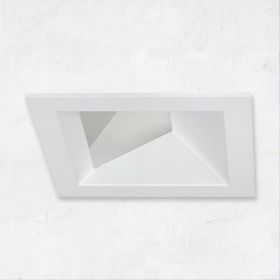 Alcon 14031-3 3-Inch Square Architectural LED Wall Wash Recessed Light