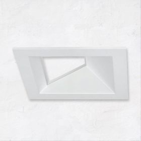 Alcon 14031-4 3-Inch Square Architectural LED Open Reflector Wall Wash Recessed Light