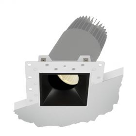 Alcon Lighting 14073-ADJ Illusione 2.5 Inch Architectural LED Square Trimless Recessed Adjustable Down Light Fixture