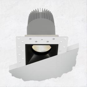 Alcon 14073-DIR Illusione 2.5-Inch Architectural LED Direct Square Recessed Light