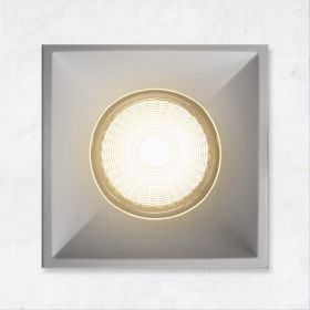 Alcon 14074-SF Illusione 4-Inch LED Square Fixed Recessed Light