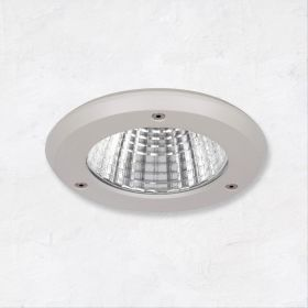 Alcon 14078-4 4-Inch Outdoor LED Vandal-Resistant Recessed Light