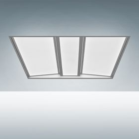 Alcon 14125 Recessed Volumetric Flat-Panel Contemporary LED Troffer Light
