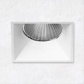 Alcon 14131-S-DIR 2-inch Shallow Miniature Square LED Trimless Light