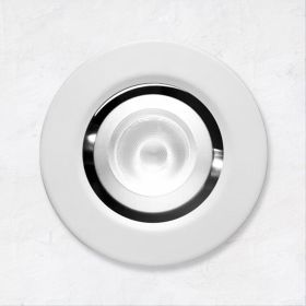 Alcon 14142-R-ADJ Recessed 1-Inch Miniature LED Adjustable Light