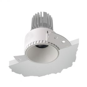 Alcon 14143-R Recessed Trimless Round 4-Inch LED Downlight