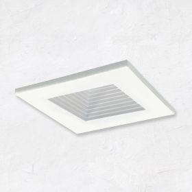 Alcon 14144-S-DIR-B Recessed 2-Inch Baffled Miniature Square LED Light