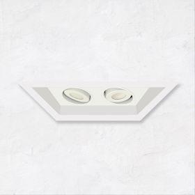 Alcon 14300-2 Oculare 2-Head Multiple Flanged Adjustable LED Recessed Light