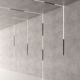 Alcon 15100 Linear Recessed Magnetic Modular LED Light System