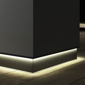 Alcon 15244 Linear Recessed LED Toe Kick Baseboard Light