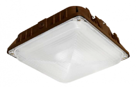 Alcon Lighting 16002 Talos Architectural LED 8 Inch Square Canopy Surface Mount Outdoor Direct Light Fixture