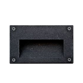 Alcon Lighting 9609 Copan Architectural LED Low Voltage Step Light Recessed Wall Mount Fixture