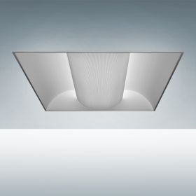 Alcon 24000 Elite Architectural LED Recessed Center Basket Direct Light Troffer