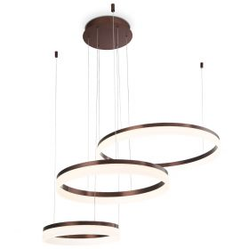 Alcon Lighting 12247 Bandini Three-Tier 47.75 Inches Architectural LED Suspended Pendant Chandelier