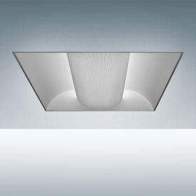 Alcon Lighting 7013 Perforated Center Basket Fluorescent Troffer Light Fixture