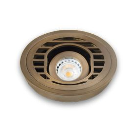 Alcon 9031 Adjustable Low-Voltage In-Ground LED Well Uplight