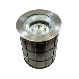 Alcon 9094 Canna Architectural Landscape LED 10 Inch In-Ground Stainless Steel Well Light - 120V~277V