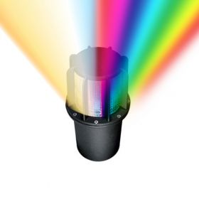 Alcon 9099 RGBW Color-Tuning LED In-Ground Well Light 120V