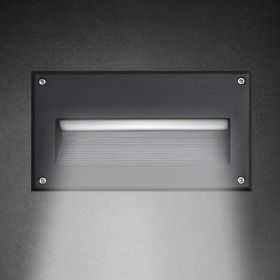 Alcon 9607 Recessed Wall-Mounted LED Step and Driveway Light