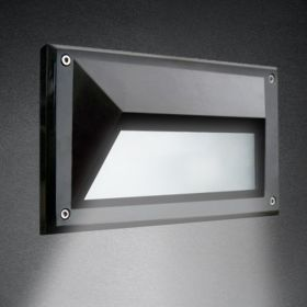 Alcon 9608 Recessed Wall-Mounted LED Step and Driveway Light