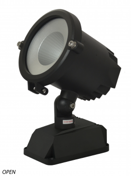 Alcon Lighting 9085-5 Grove Series Architectural LED 5 Inch High Grade Surface Mount Adjustable Flood Light