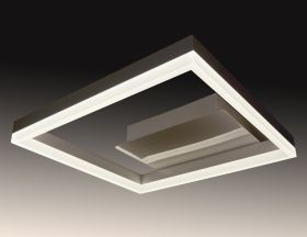 Alcon Lighting 12278-1 Square Architectural LED 1 Tier Square Surface Mount | Color Temperature Switching