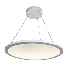 Alcon Lighting 12290 Disk Architectural LED Direct/Indirect Round Suspension Light - 2 Foot