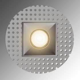 Alcon Lighting 14074-SF Illusione 4 Inch Square Architectural LED Trimless Flush Mount Recessed Light Fixture