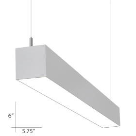 Alcon Lighting Beam 66 Series 10120-4 Architectural 4 Foot Linear Fluorescent Pendant Mount Light Fixture