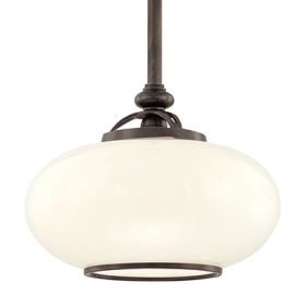 Hudson Valley Canton 9815-OB Architectural LED Pendant Mount Light Fixture