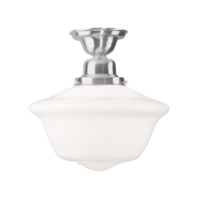 Hudson Valley Edison Semi Flush 1615F-SN LED Ceiling Mount Light Fixture