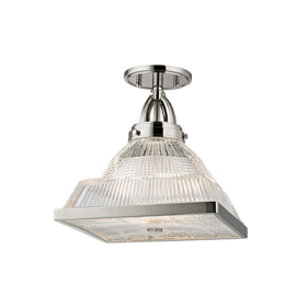Hudson Valley Harriman Semi Flush 4410-PN LED Ceiling Mount Light Fixture