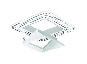 Alcon Lighting 14006-4 Illusione 3 Inch Architectural LED Square Trimless Open Reflector Recessed Wall Wash Fixture