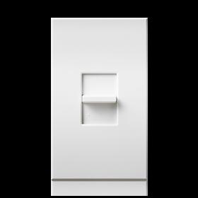 Alcon Lighting 2103 Villa Thin Profile Incandescent 600W Linear Slide-to-Off Single Pole 120V Dimmer