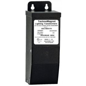 100W 12V DC Indoor/Outdoor Dimmable LED DC Magnetic Transformer Driver