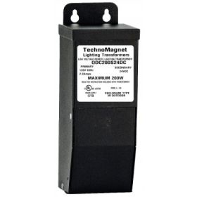 ODC200S24VDC 200W 24V DC Indoor/Outdoor Dimmable LED DC Magnetic Transformer Driver