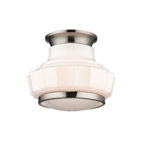 Hudson Valley Odessa Semi Flush 3809F-SN LED Ceiling Mount Light Fixture