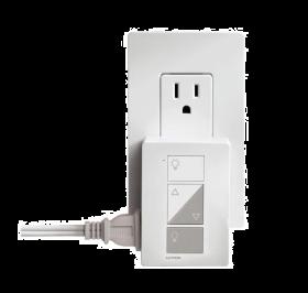 Lutron Caseta Wireless PD-3PCL-WH Plug In Lighting Dimmer 120V White
