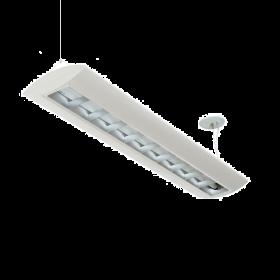 Alcon Reyon 10124-4 Low Profile 4 FT Fluorescent Commercial Pendant