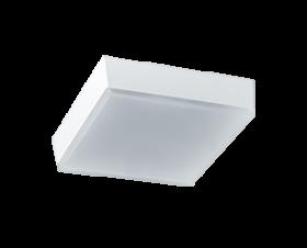 RAB LED 5 Inch SKEET SK9S Square 9 Watt Low Profile LED Flush Mount Retrofit Light Fixture