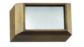 Alcon Lighting 9200-S Soda Architectural LED Low Voltage Step Light Surface Mount Fixture