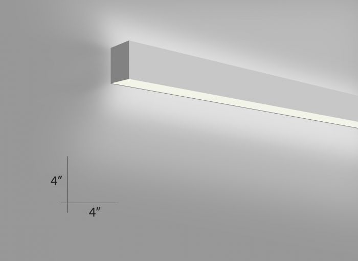 Image 1 of Alcon Lighting 12100-45-W Continuum 45 Series Architectural LED Linear Wall Mount Direct/Indirect Light Fixture
