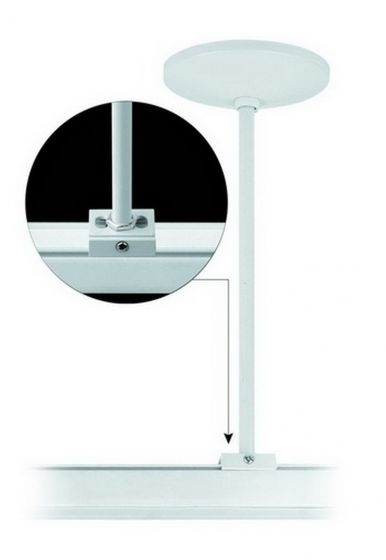 Alcon Lighting 13996 Track Lighting Channel Universal Rod Stem Support Suspension Mount