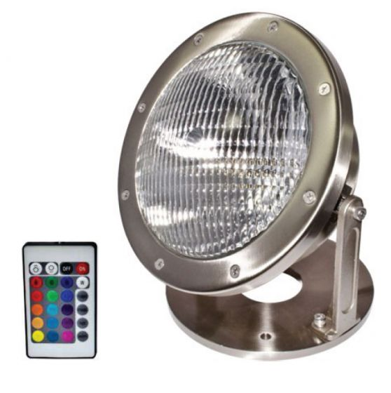 Image 1 of Alcon Lighting 17003 Architectural Submersible Pond and Fountain Underwater RGB LED Light