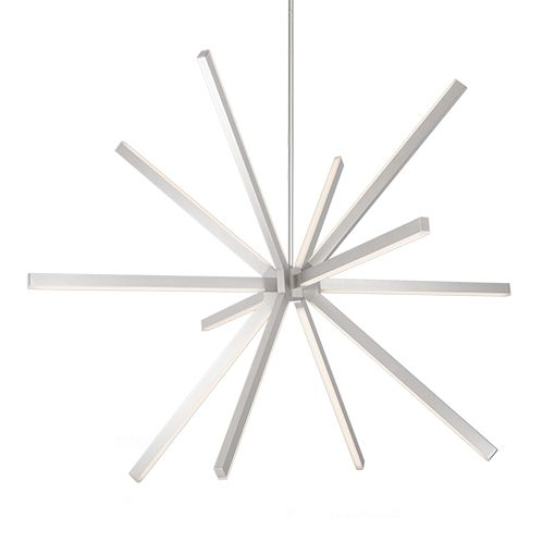 Image 1 of Alcon 12257 Nova Suspended Contemporary LED Pendant Light