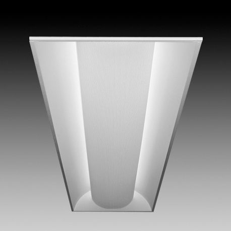 Image 1 of Focal Point Lighting FLUB14B Luna 1x4 Architectural Recessed Fluorescent Fixture