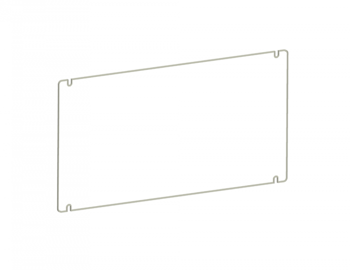 Image 1 of RAB GDFXLED78P Polycarbonate Shield for FXLED78 Guard with Stainless Steel Screws