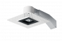 Image 1 of RAB RDLED2S8-20YY-TLB - 2 Inch Trimless Square Remodel LED Recessed Light - Black Ring - Trimless Look - 2700K