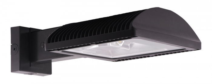 Image 1 of RAB WPLED4T125 125 Watt LED Outdoor Wall Pack Fixture Type 4 Distribution